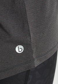 Cotton On Body - SPLIT BACK TANK - Débardeur - charcoal marle - 6