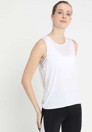 ACTIVE TWIST TANK TOP - Top - white