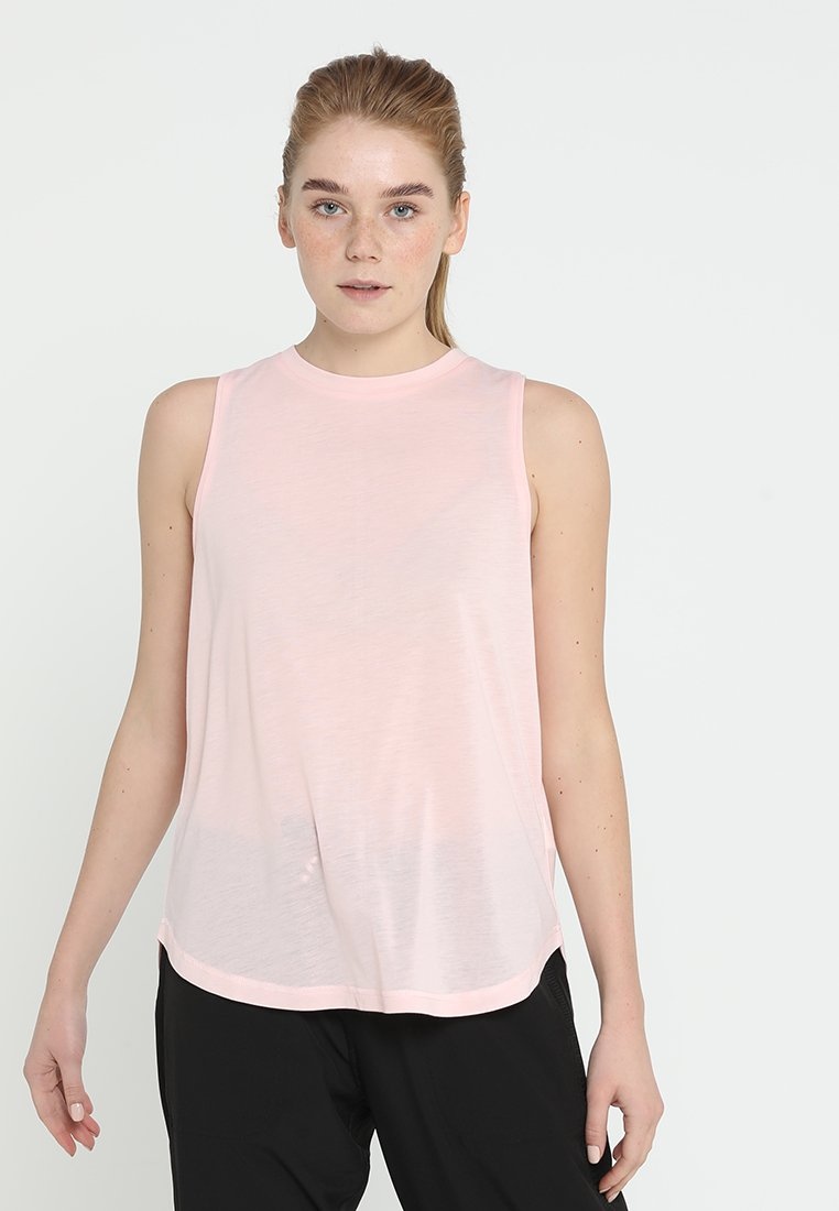 Cotton On Body - SHEER MOCK NECK TANK - Topper - meringue