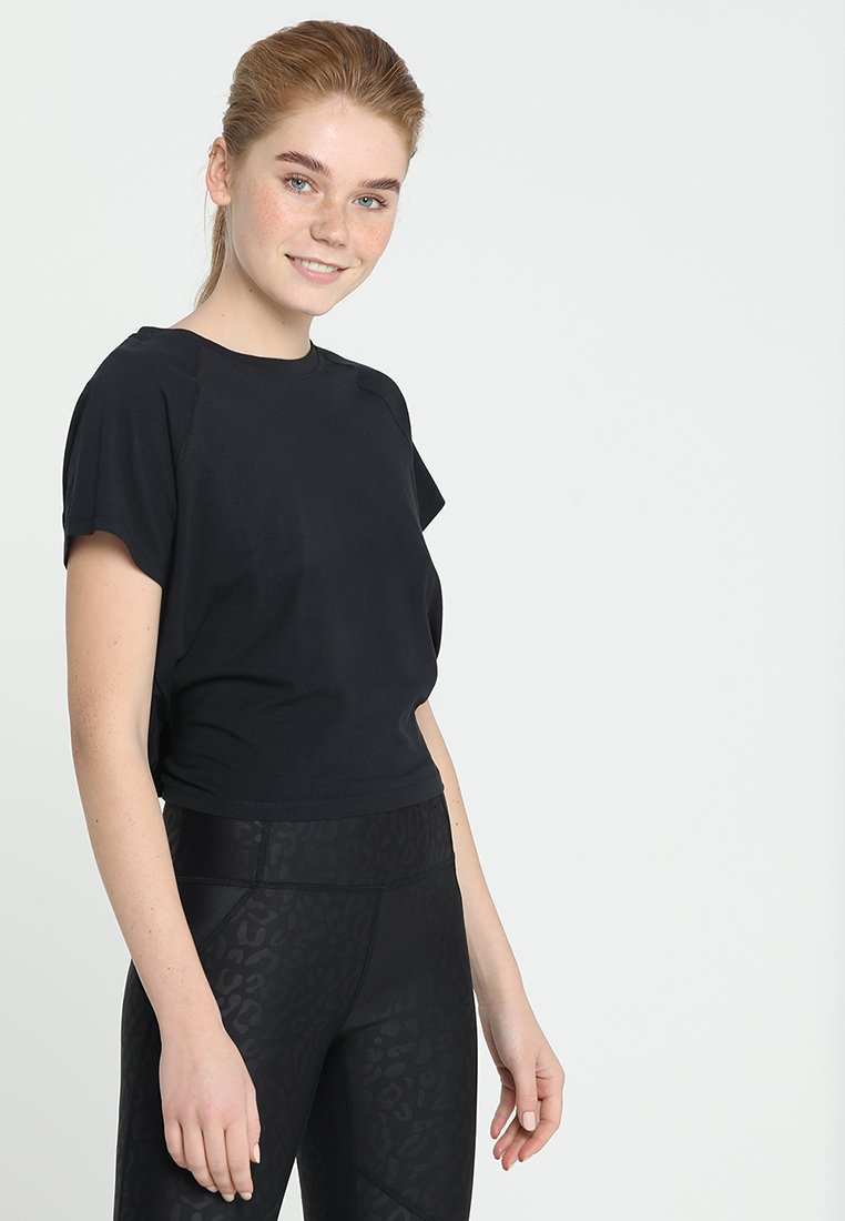 Cotton On Body - KNOTTED HEM - T-Shirt print - black
