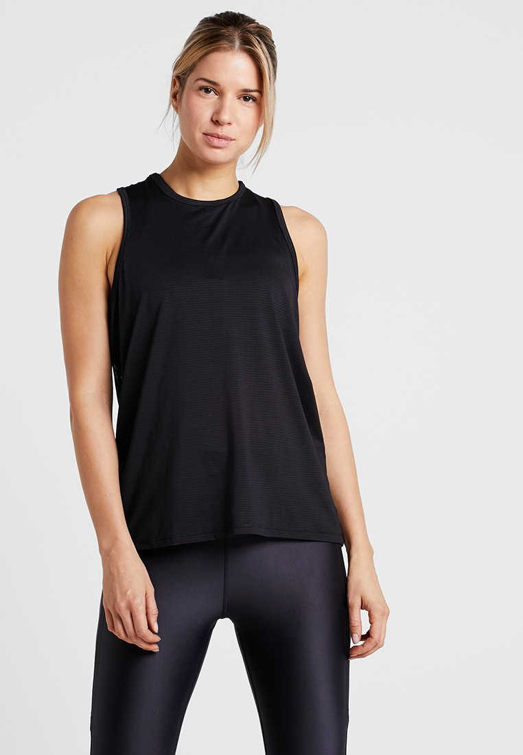Cotton On Body - BACK TANK  - Top - black