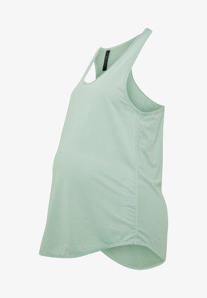 MATERNITY TRAINING TANK - Camiseta de deporte - washed aloe