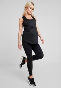 Cotton On Body - MATERNITY TRAINING TANK - Sports shirt - black - 1