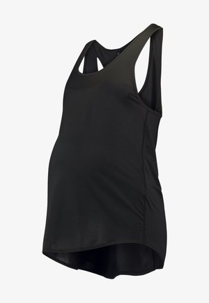 MATERNITY TRAINING TANK - Sports shirt - black