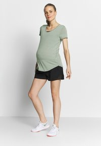 Cotton On Body - MATERNITY GYM TEE - Basic T-shirt - grey marle - 1