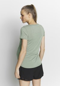 Cotton On Body - MATERNITY GYM TEE - Basic T-shirt - grey marle - 2
