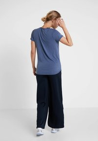 Cotton On Body - MATERNITY GYM TEE - Jednoduché triko - steel blue marle - 2