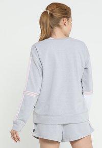 Cotton On Body - LONG SLEEVE TERRY CREW - Mikina - grey marle/white - 2