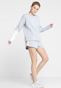 Cotton On Body - LONG SLEEVE TERRY CREW - Mikina - grey marle/white - 1