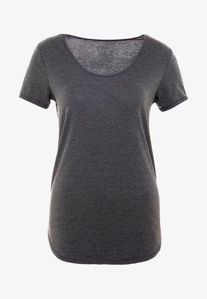 GYM - T-shirt basic - charcoal marle