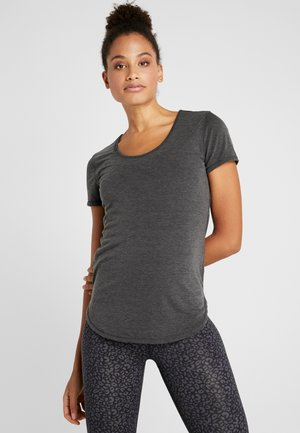 GYM - Basic T-shirt - charcoal marle