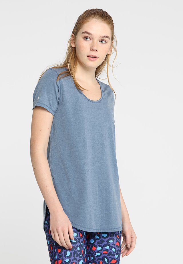GYM - Basic T-shirt - steel blue