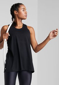 Cotton On Body - ACTIVE ELASTIC BACK TANK - Toppe - black - 0