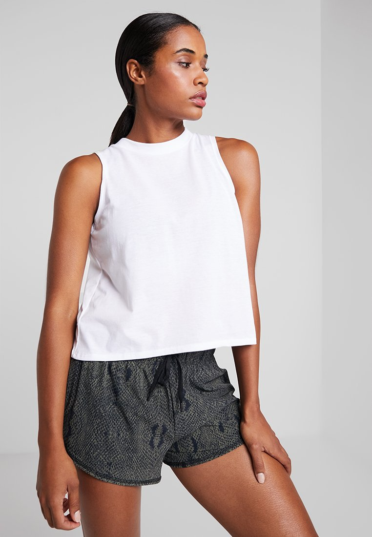 Cotton On Body - CROSS OVER TANK - Top - white