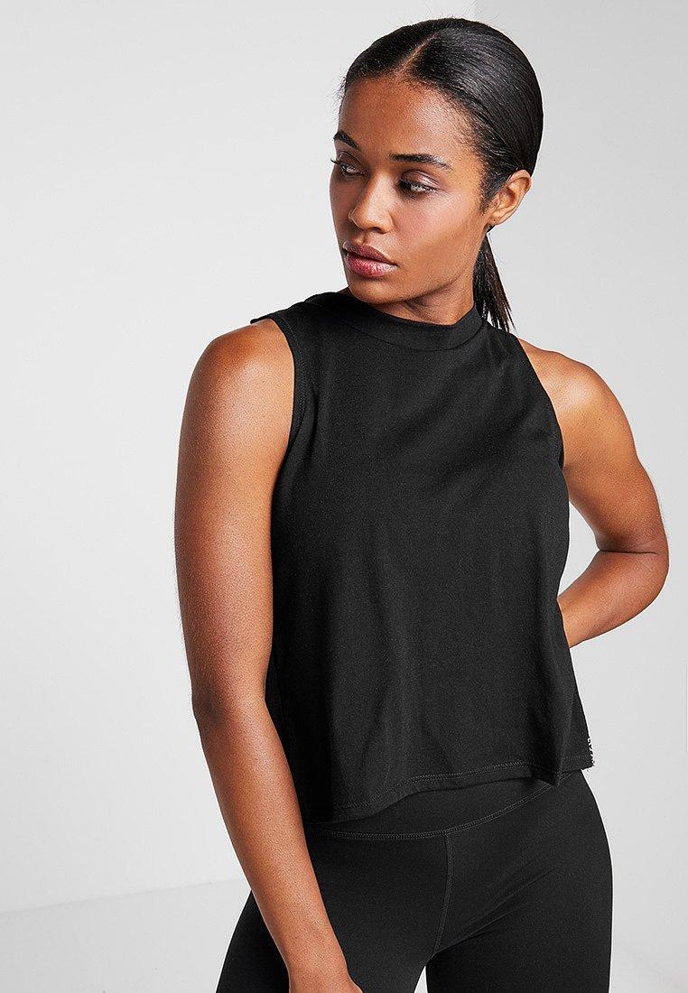 Cotton On Body - CROSS OVER TANK - Top - black