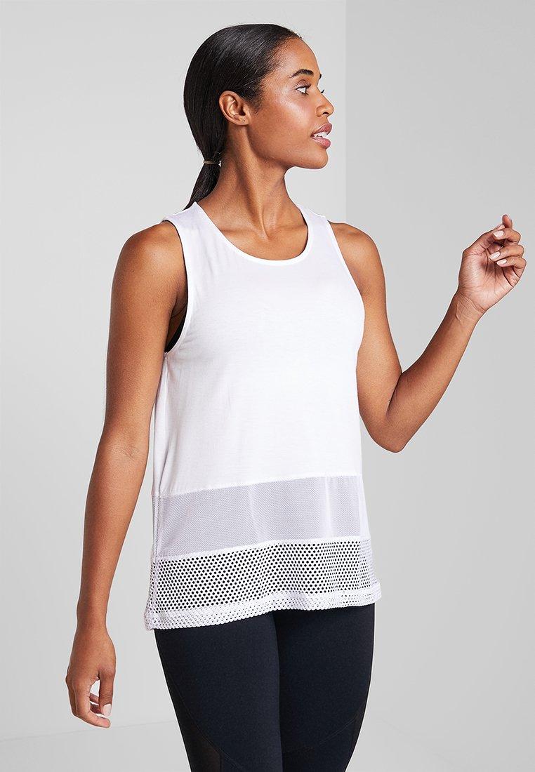 Cotton On Body - SPLICED TANK - Top - white