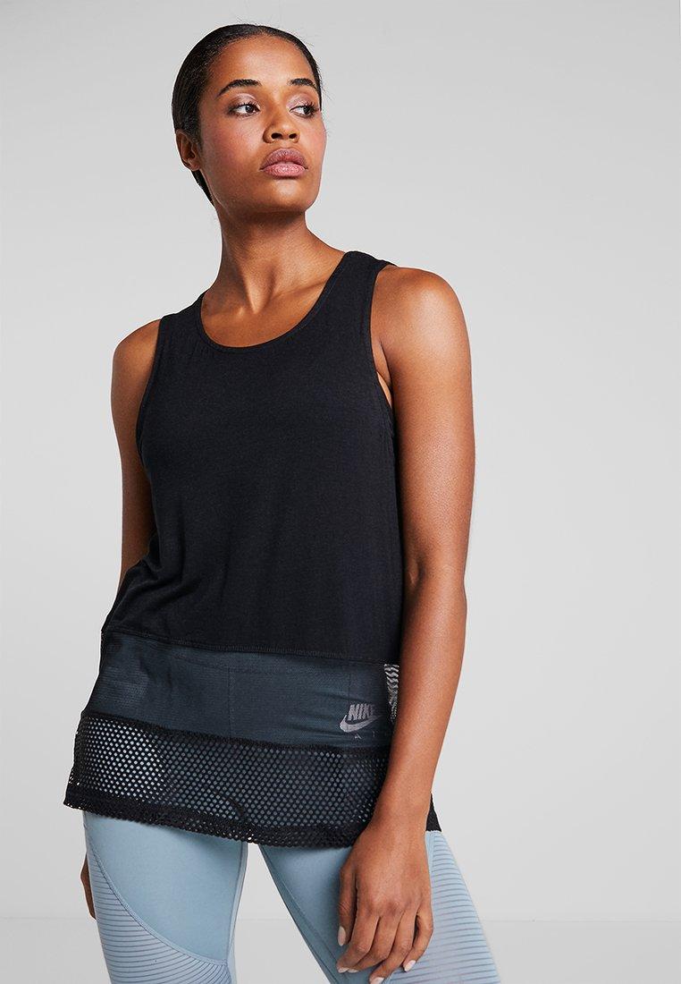 Cotton On Body - SPLICED TANK - Top - black