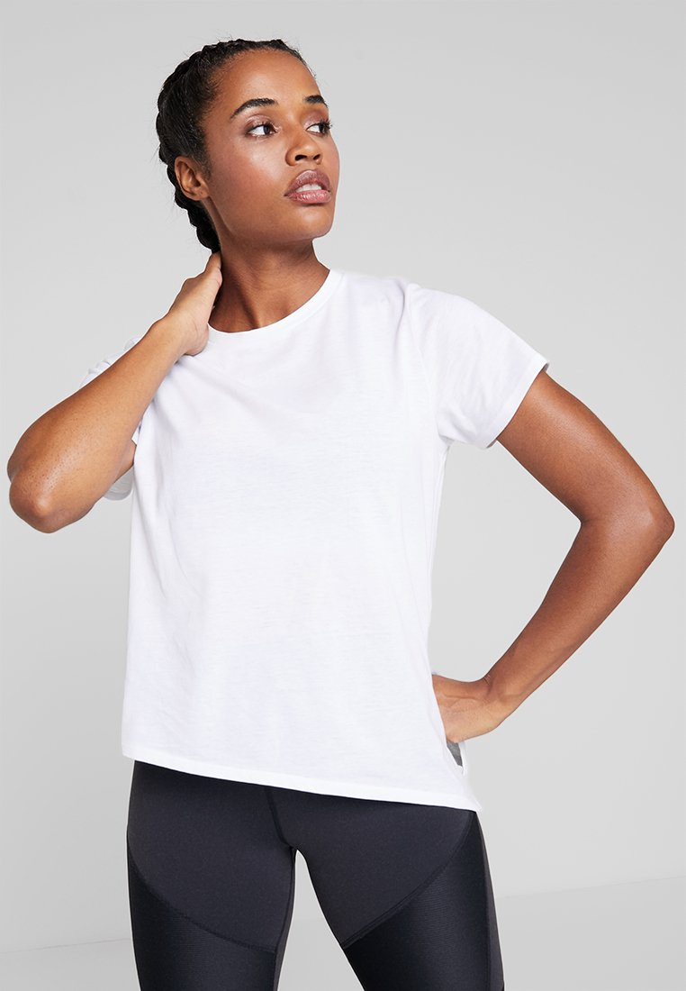 Cotton On Body - SIDE TIE - T-shirt con stampa - white