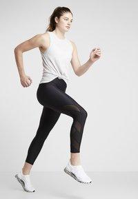 Cotton On Body - ACTIVE CURVE HEM TANK - Topper - grey marle - 1