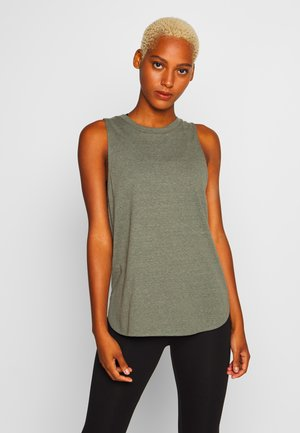 ACTIVE CURVE HEM TANK - Top - steely shadow