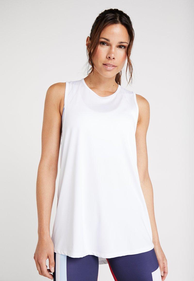 Cotton On Body - OPEN BACK STRAPPY TANK - Top - white