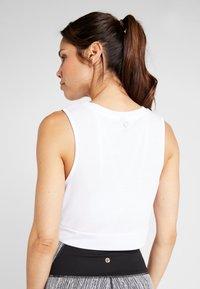 Cotton On Body - CROP TWIST FRONT TANK - Topper - white - 2