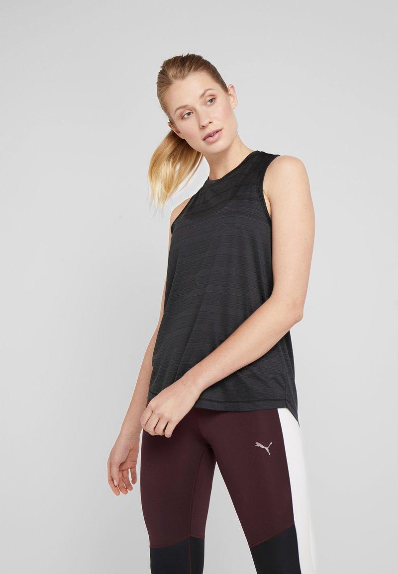 Cotton On Body - CROSS BACK TANK - Top - black