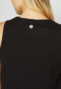 Cotton On Body - MATERNITY ACTIVE CURVE HEM TANK - Top - black - 5
