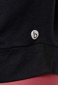 Cotton On Body - TWIST FRONT ACTIVE - T-shirt print - black - 5