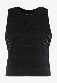 Cotton On Body - SEAMFREE MUSCLE TANK - Débardeur - black - 4