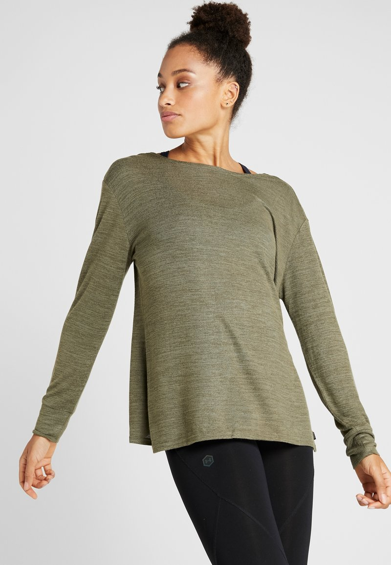 Cotton On Body - BACK TWIST LONG SLEEVE - Maglione - khaki