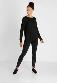 Cotton On Body - BACK TWIST LONG SLEEVE - Jumper - black - 1