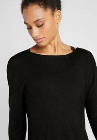 Cotton On Body - BACK TWIST LONG SLEEVE - Jumper - black - 4