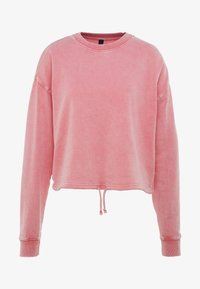 Cotton On Body - TIE HEM CREW  - Sweatshirt - cameo pink wash - 3