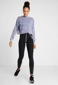 Cotton On Body - TIE HEM CREW  - Sweatshirt - ultra marine wash - 1
