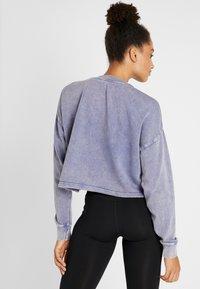 Cotton On Body - TIE HEM CREW  - Sweatshirt - ultra marine wash - 2