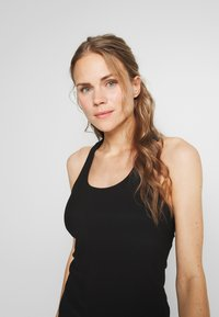Cotton On Body - ACTIVE FITTED TANK - Top - black - 3