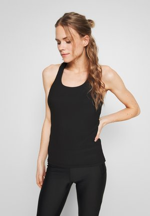 ACTIVE FITTED TANK - Topper - black