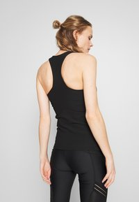 Cotton On Body - ACTIVE FITTED TANK - Top - black - 2