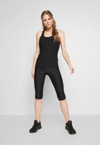 Cotton On Body - ACTIVE FITTED TANK - Top - black - 1