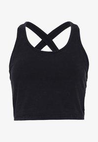 Cotton On Body - WASHED BACK VESTLETTE - Topper - black - 5
