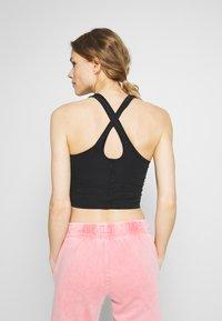 Cotton On Body - WASHED BACK VESTLETTE - Topper - black - 2