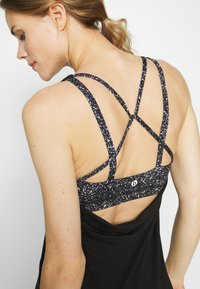 Cotton On Body - STRAPPY 2-IN-1 TANK - Top - black - 5