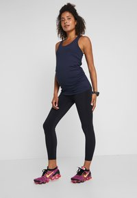 Cotton On Body - MATERNITY FITTED TANK - Top - navy - 1