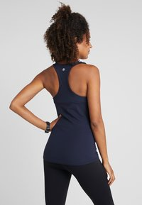 Cotton On Body - MATERNITY FITTED TANK - Top - navy - 2