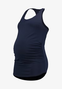 Cotton On Body - MATERNITY FITTED TANK - Top - navy - 5