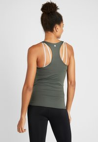 Cotton On Body - MATERNITY FITTED TANK - Linne - khaki - 2