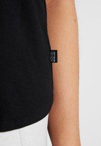 Cotton On Body - OPEN TWIST BACK TANK - Linne - black - 4