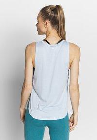 Cotton On Body - SIDE TWIST TANK  - Topper - baby blue - 2