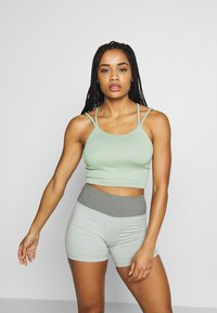 Cotton On Body - SEAMFREE STRAPPY VESTLETTE - Top - washed aloe - 0